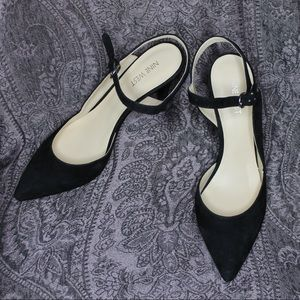 Nine West Ankle Strap Heels